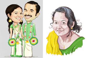 Portfolio for Gift Caricature