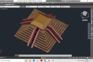 Portfolio for Autocad based architectural floor plan