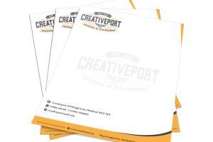 Portfolio for letterhead design