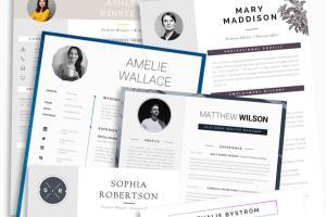 Portfolio for Resume I CV & Cover Letter Design