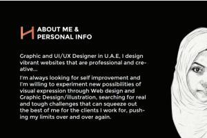 Portfolio for Senior Graphic Designer