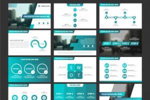 Portfolio for Design PPT Presentations - Infographics