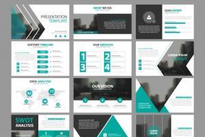 Portfolio for Design powerpoint / PDF or google slide