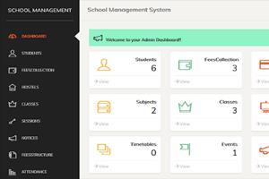 Portfolio for HBS - School Management System ERP
