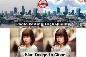 Portfolio for Graphic Design, Photo Editing