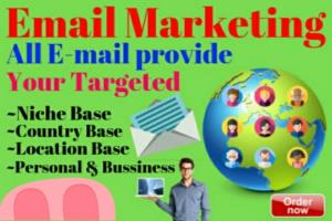 Portfolio for Email marketer