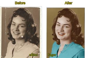 I will do old Photo Restoration & Repair