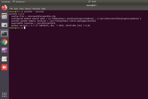 Portfolio for Ansible install Linux