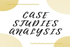 Portfolio for Case Studies Analysis