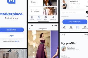 Portfolio for Mobile App User Interface Design