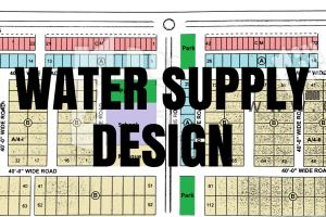 Portfolio for Sewerage and Water Supply Design