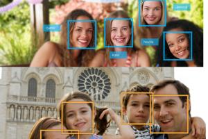 Portfolio for Face detection app