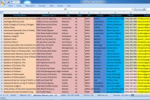 Portfolio for b2b linkedin lead generation data