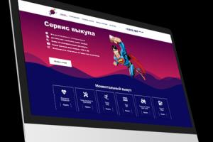 Portfolio for Design and functional websites on cms
