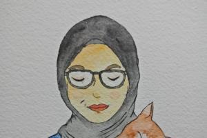 Portfolio for Watercolor Portrait (Half-Body)