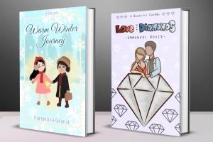 Portfolio for Book Cover Designer/Illustrator