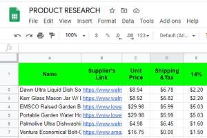 Portfolio for eBay Drop-shipping VA