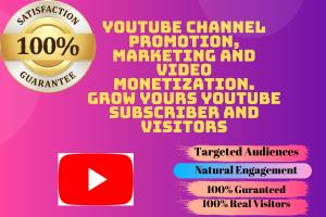 Portfolio for YouTube Channel Monetization & Marketing