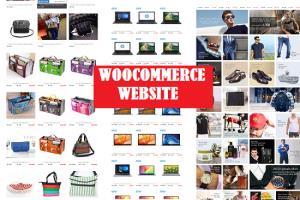Portfolio for woocommerce website