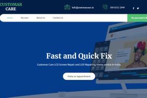 Repairing Service WordPress Website Development