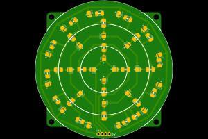 Indication LEDs PCB design (12V)