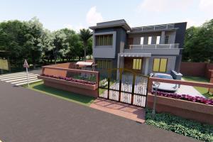 Portfolio for 3D interior design, 3D construction Plan