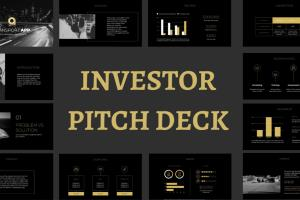 Portfolio for Make an investor pitch deck presentation
