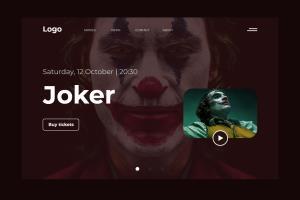 Joker Movie Landing