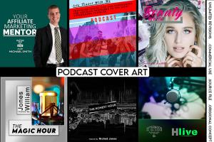 Portfolio for Professional Podcast Cover Art