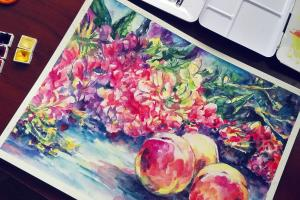 Portfolio for Watercolor painting