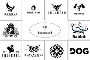 Portfolio for design a modern luxury minimal logo