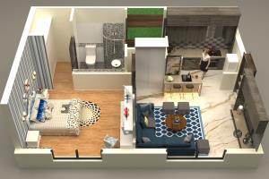 Portfolio for will design 3d floor plan for your house