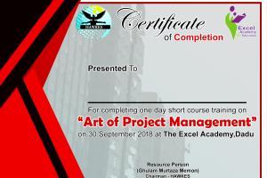 Portfolio for Certificate Design | Attractive Look