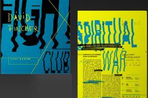 Portfolio for Typographic graphic designer