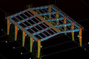 Portfolio for Tekla structures and shop dwg
