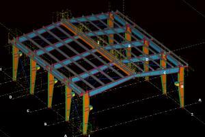 Portfolio for 3d modeling(tekla structures,solidwork)