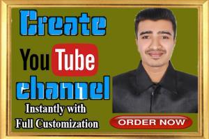 Portfolio for SEO friendly full setup youtube channel