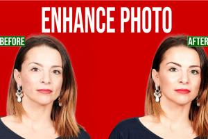 Portfolio for Enhance photo, skin retouching