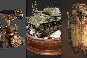 Portfolio for 3D modeler game/film