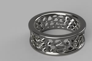 Portfolio for 3D print ready jewellery models