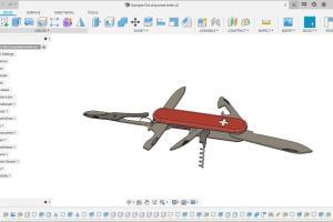 Portfolio for Fusion 360 Design/ 3D Model/ STL Edit