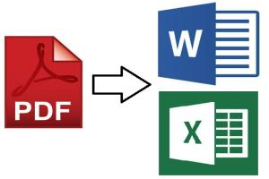 Portfolio for PDF to Word Conversion | Convert a PDF