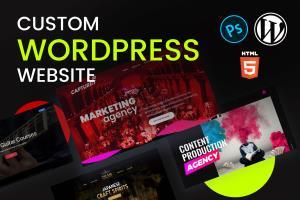 Portfolio for Custom WordPress Design & Development