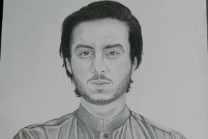Portfolio for I will draw Pencil Sketch Portrait for U
