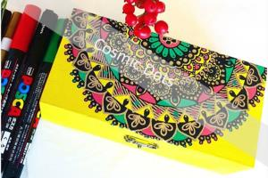 Hand drawn mandalas on products
