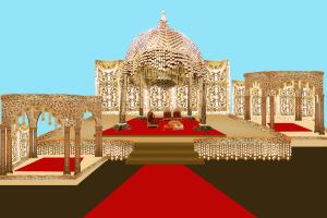 Portfolio for wedding / Events stage planning
