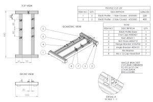 Portfolio for Technical & Industrial Drawings