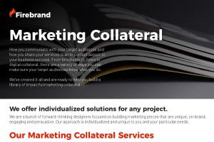 Portfolio for Marketing Collateral Design
