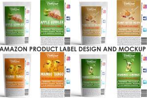 Portfolio for Design amazon product packaging & label