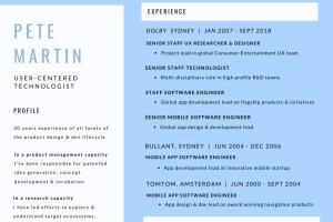 Portfolio for Mobile App UX Research, Design & Dev